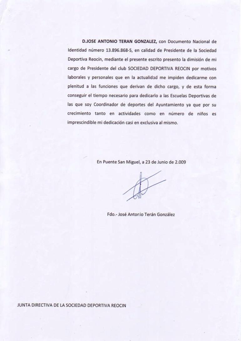Dimisión_Gallo