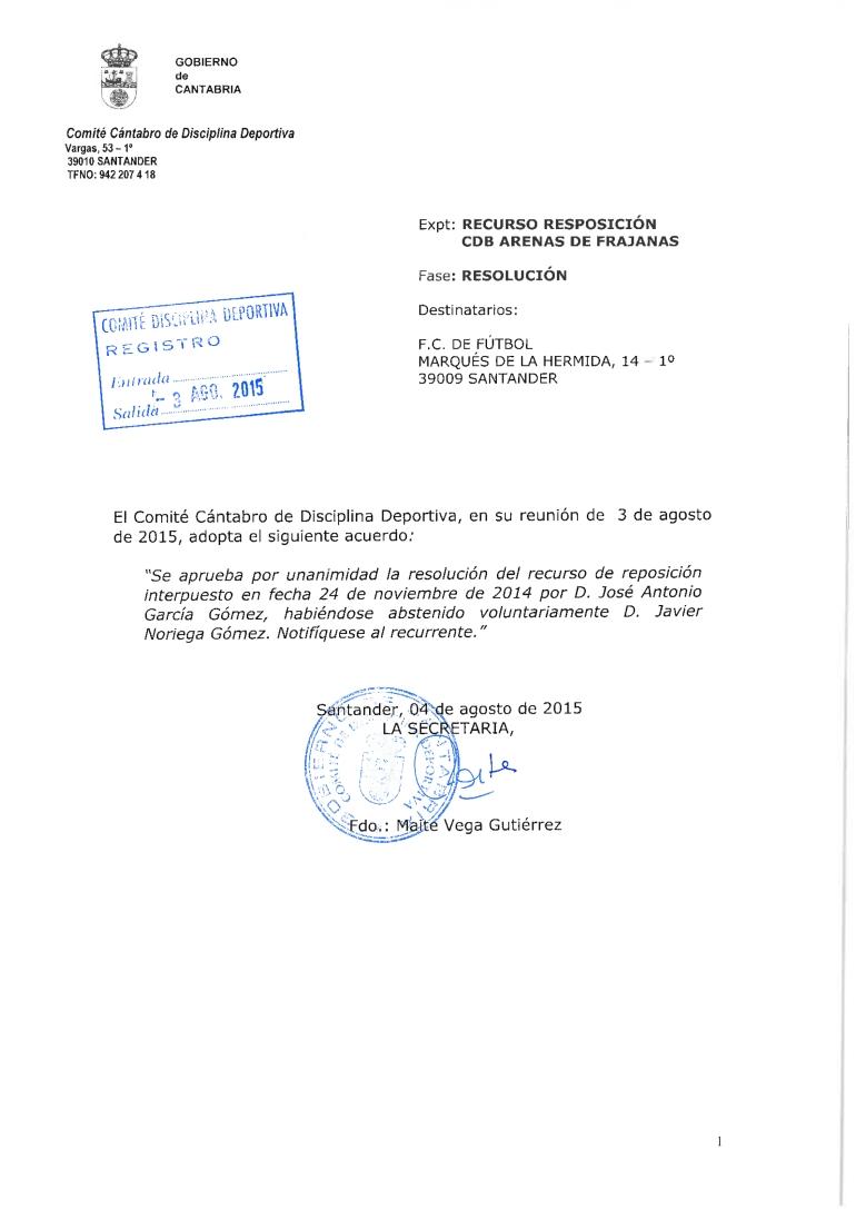 RECURSO REPOSICIÓN CDB ARENAS DE FRAJANAS_0001