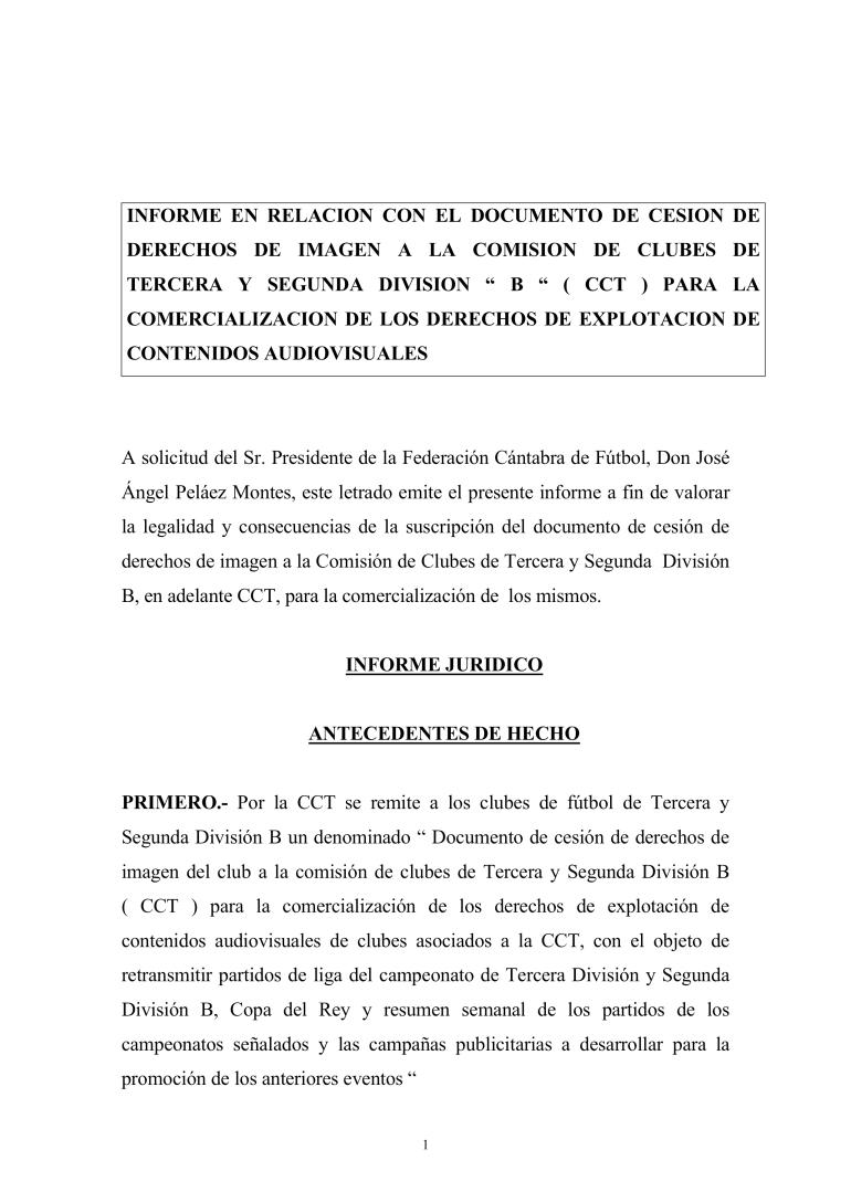 Informe FCF sobre cesión de derechos de imagen a la CCT,_0001