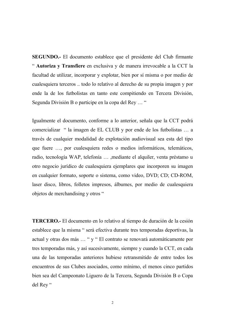 Informe FCF sobre cesión de derechos de imagen a la CCT,_0002
